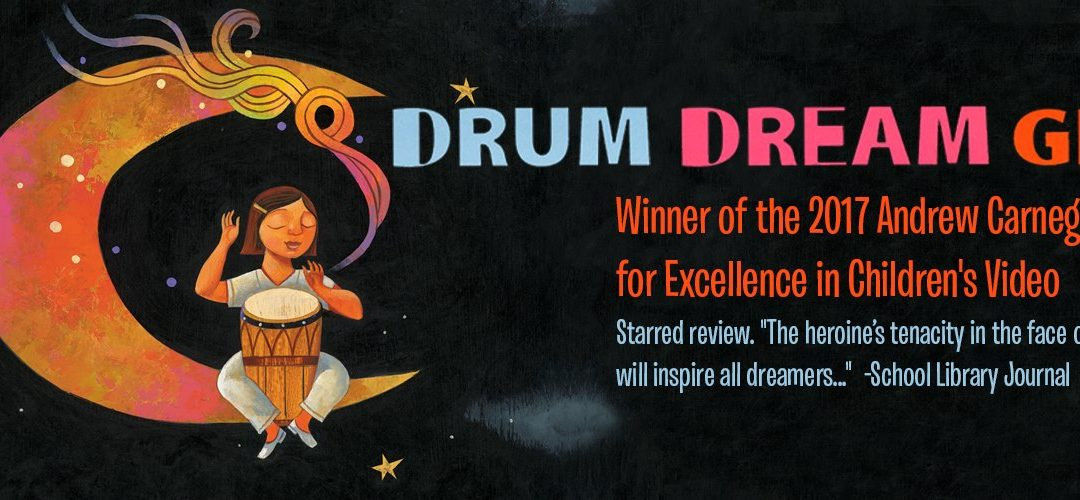 2017 Andrew Carnegie Medal for Drum Dream Girl