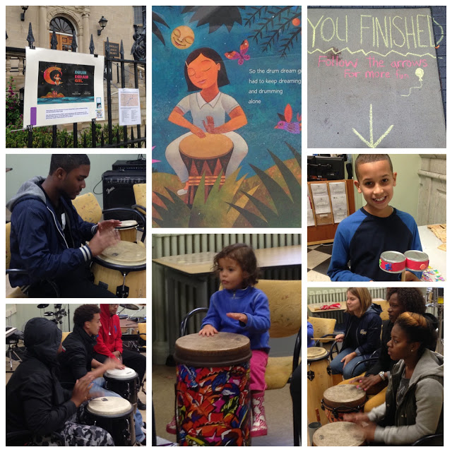 Drum Dream Girl: Literary Stroll around the neighborhood in Boston