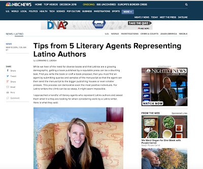 Tips from Literary Agents representing Latino authors